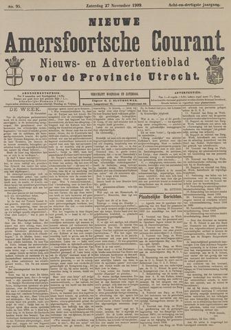 Nieuwe Amersfoortsche Courant 1909-11-27