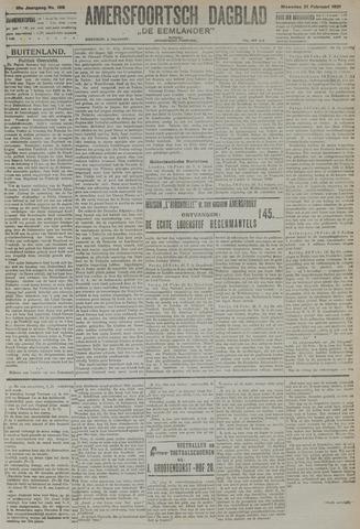 Amersfoortsch Dagblad / De Eemlander 1921-02-21