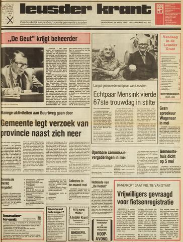 Leusder Krant 1983-04-28