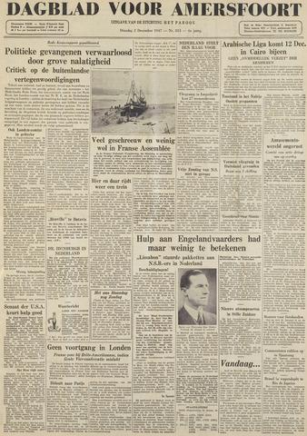 Dagblad voor Amersfoort 1947-12-02