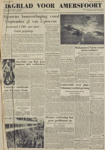 Dagblad voor Amersfoort 1950-09-06