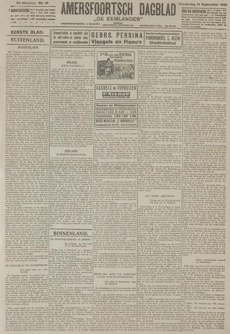 Amersfoortsch Dagblad / De Eemlander 1925-09-10