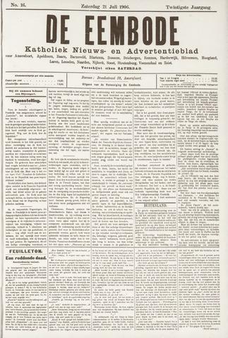 De Eembode 1906-07-21