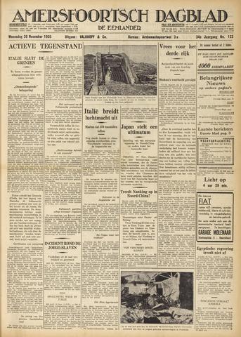 Amersfoortsch Dagblad / De Eemlander 1935-11-20