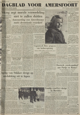 Dagblad voor Amersfoort 1951-01-30