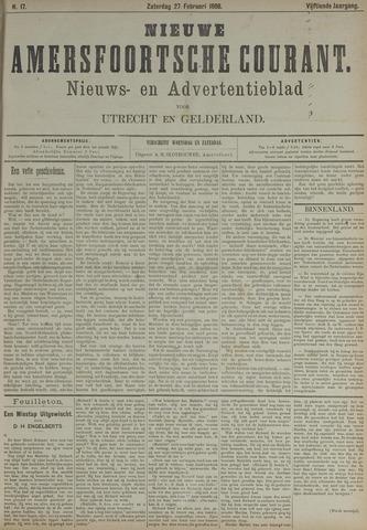 Nieuwe Amersfoortsche Courant 1886-02-27