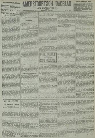 Amersfoortsch Dagblad / De Eemlander 1922-02-17