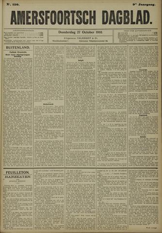 Amersfoortsch Dagblad 1910-10-27