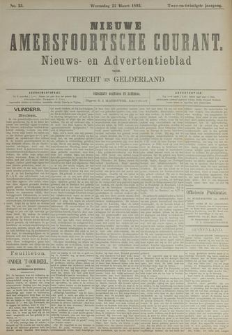 Nieuwe Amersfoortsche Courant 1893-03-22