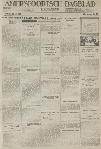 Amersfoortsch Dagblad / De Eemlander 1929-07-25