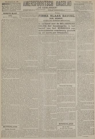 Amersfoortsch Dagblad / De Eemlander 1918-12-07