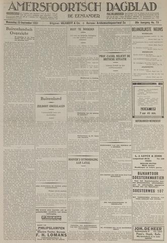 Amersfoortsch Dagblad / De Eemlander 1931-09-23