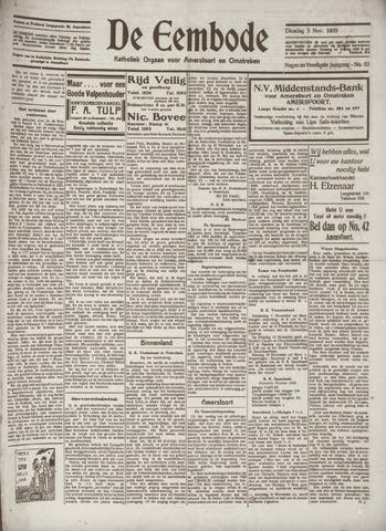De Eembode 1935-11-05