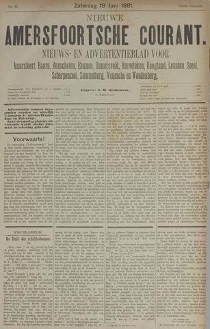 Nieuwe Amersfoortsche Courant 1881-06-18