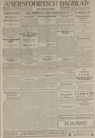 Amersfoortsch Dagblad / De Eemlander 1933-06-01