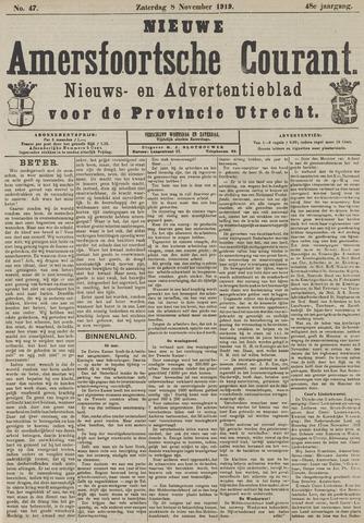 Nieuwe Amersfoortsche Courant 1919-11-08