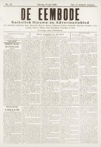 De Eembode 1909-07-10