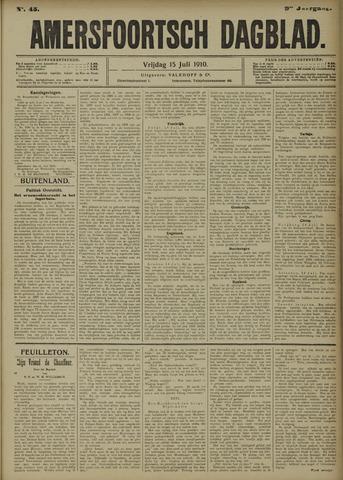 Amersfoortsch Dagblad 1910-07-15