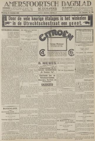 Amersfoortsch Dagblad / De Eemlander 1928-11-26