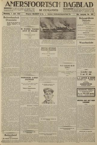Amersfoortsch Dagblad / De Eemlander 1932-06-01