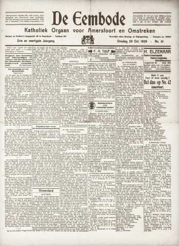 De Eembode 1929-10-29