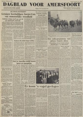 Dagblad voor Amersfoort 1949-02-01