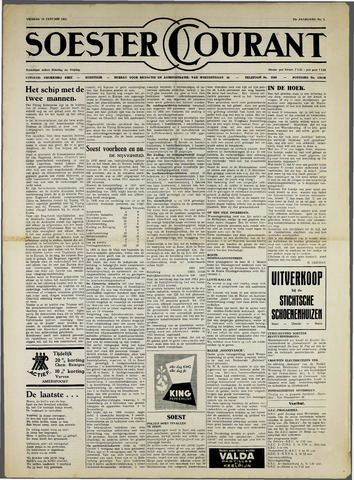 Soester Courant 1952-01-18