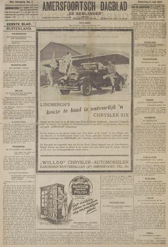 Amersfoortsch Dagblad / De Eemlander 1927-07-02