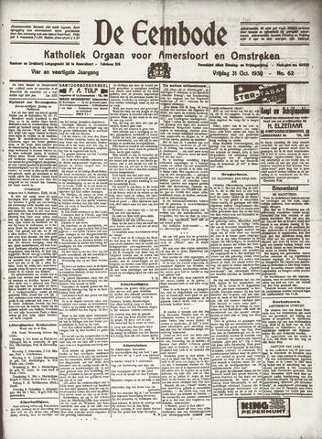 De Eembode 1930-10-31
