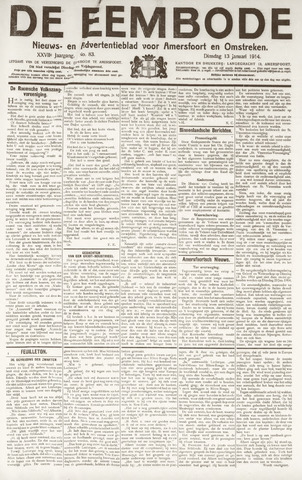 De Eembode 1914-01-13