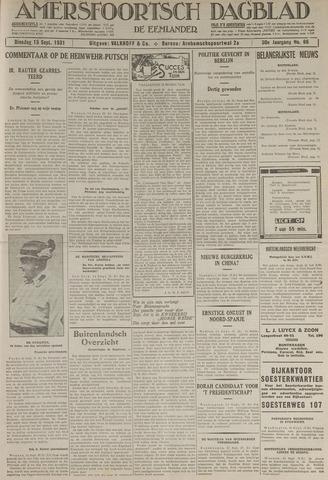 Amersfoortsch Dagblad / De Eemlander 1931-09-15