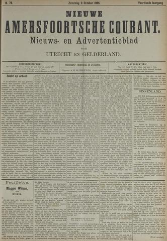 Nieuwe Amersfoortsche Courant 1885-10-03