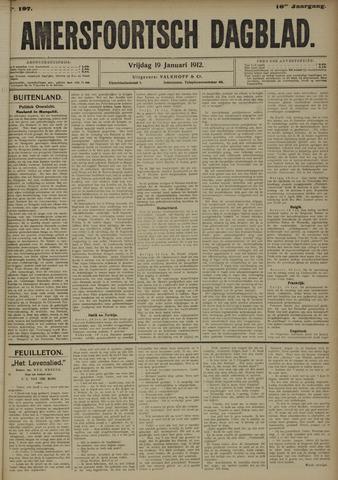 Amersfoortsch Dagblad 1912-01-19