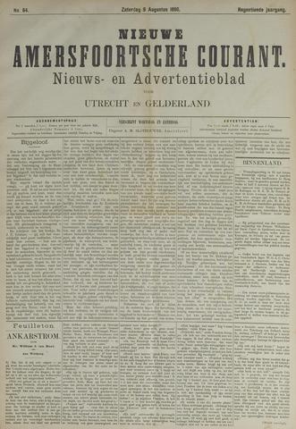 Nieuwe Amersfoortsche Courant 1890-08-09
