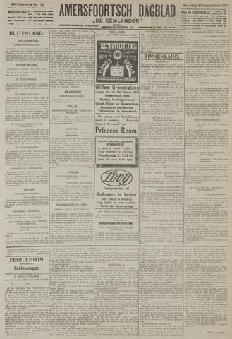 Amersfoortsch Dagblad / De Eemlander 1926-09-27