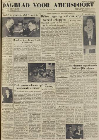 Dagblad voor Amersfoort 1949-11-18