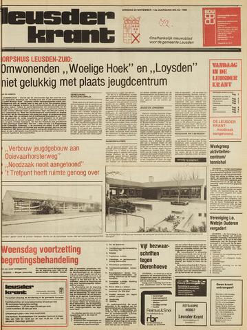 Leusder Krant 1980-11-25