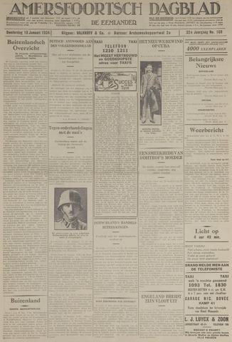 Amersfoortsch Dagblad / De Eemlander 1934-01-18