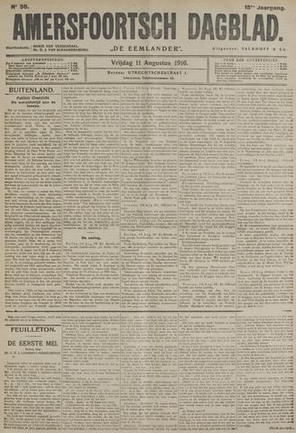 Amersfoortsch Dagblad / De Eemlander 1916-08-11