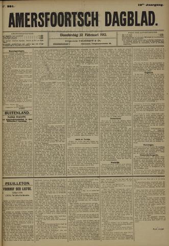 Amersfoortsch Dagblad 1912-02-22