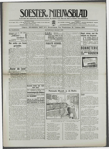 Soester Courant 1939-03-11