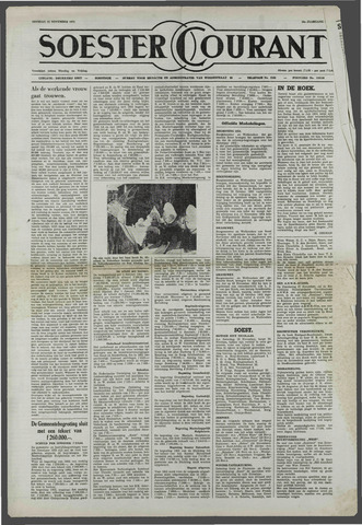 Soester Courant 1952-11-25
