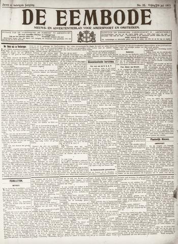 De Eembode 1913-07-18