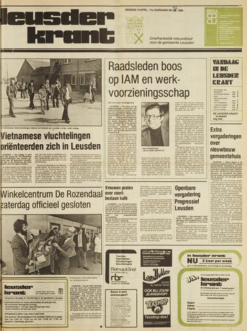 Leusder Krant 1980-04-15