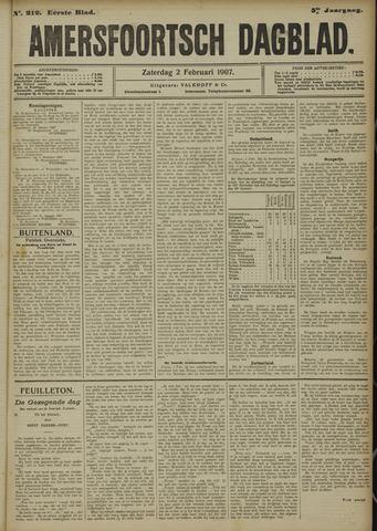 Amersfoortsch Dagblad 1907-02-02
