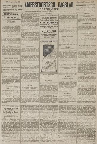 Amersfoortsch Dagblad / De Eemlander 1927-01-24