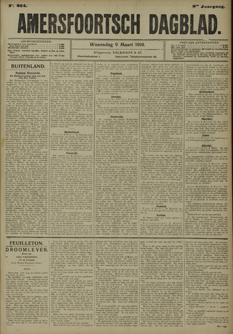 Amersfoortsch Dagblad 1910-03-09