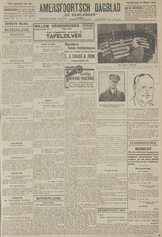 Amersfoortsch Dagblad / De Eemlander 1927-03-24