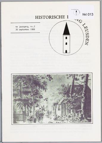 Historische Kring Leusden 1988-09-30