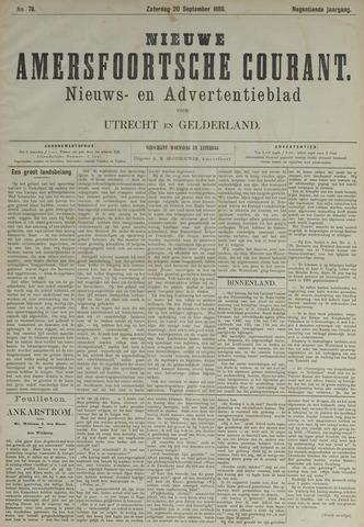 Nieuwe Amersfoortsche Courant 1890-09-20